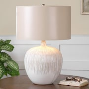 Uttermost Georgios 23.25'' H Table Lamp with Drum Shade