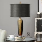 Uttermost Circello 28'' H Table Lamp with Drum Shade