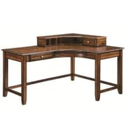 Wildon Home   Jacqueline Writing Desk; Walnut