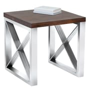 Sunpan Modern Crescent End Table