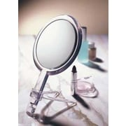 Floxite 10x/1x Handheld 2-Sided Mirror with Stand