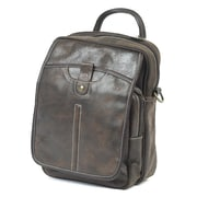 Claire Chase Classic Messenger Bag; Brown