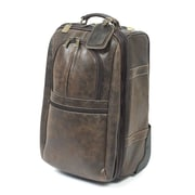 Claire Chase Expandable 21'' Pullman Suitcase; Distressed Brown