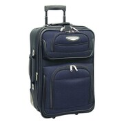 Traveler's Choice Amsterdam 21'' Rolling Carry On; Navy