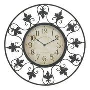 Woodland Imports Oversized 23'' Decorative Outdoor Wall Clock