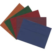 JAM Paper Assorted A7 Envelope, 5.25 x 7.25, Multicolored, 125/Pack (6391A7Dbgorb)