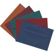 "JAM Paper Assorted A8 Envelope, 5.5"" x 8.125"", Multicolored, 125/Pack (639A8bortb)"