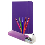 JAM Paper® Back To School Assortments Artist Writer Pack, Purple, 7 Items Total (7655PRassrt)