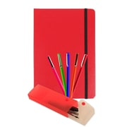 JAM Paper® Back to School Assortments Artist Writer Pack, Red, 7 Items Total (7655Rassrt)