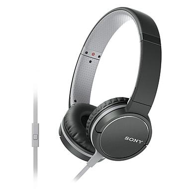 Sony – Casque d'écoute compatible téléphone intelligent, noir