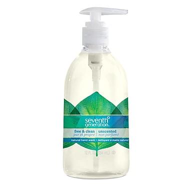 Seventh Generation – Savon liquide pour les mains, pur et propre et non parfumé, pompe distributrice de 12 oz