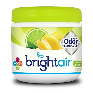 Brightair – Super éliminateur d'odeurs, Zeste de citron et lime