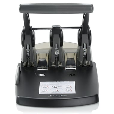 Swingline Heavy Duty 3-Hole Punch, 300 Sheets