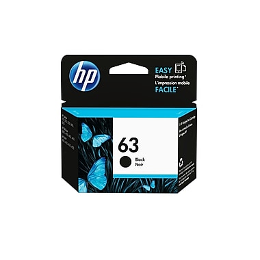 HP - Cartouche d'encre noire 63 (F6U62AN#140)
