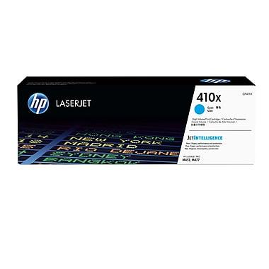 HP – Cartouche de toner LaserJet 410X originale (CF411X), haut rendement, cyan