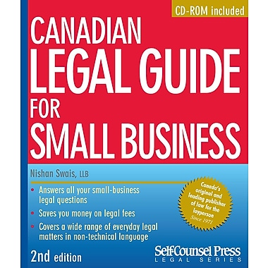 Self Counsel Press – Canadian Legal Guide for Small Business (Guide juridique canadien pour petites entreprises)