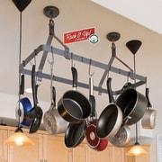 Enclume RACK IT UP! Expandable Rectangular Ceiling Hanging Pot Rack