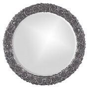 Howard Elliott Rosalie Mirror; Charcoal Gray