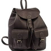 Claire Chase Travelers Backpack; Caf