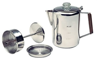 Texsport 9 Cup Stainless Percolator Coffee Maker WYF078277988568