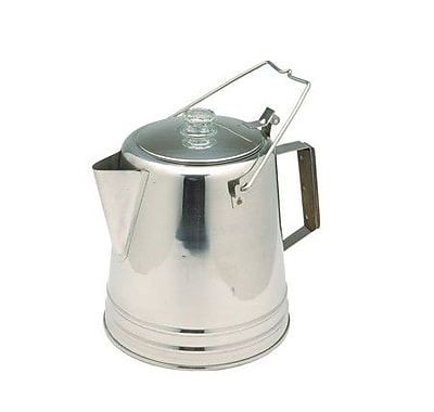 Texsport 28 Cup Stainless Percolator Coffee Maker WYF078277988569