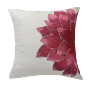 Blissliving Home Mexico City Dahlia Silk Throw Pillow