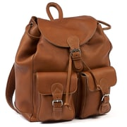 Claire Chase Travelers Backpack; Saddle
