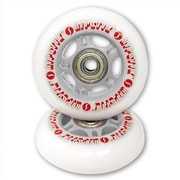 Razor RipStik Caster Board Replacement Wheels (Set of 2); Silver