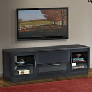 Furnitech Contemporary 70 TV Stand; Ebony
