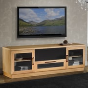 Furnitech Contemporary 70 TV Stand; Natural Stained Cherry