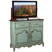 TVLIFTCABINET, Inc Belle TV Stand; Blue