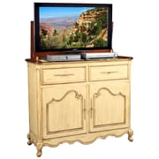 TVLIFTCABINET, Inc Belle TV Stand; Cream