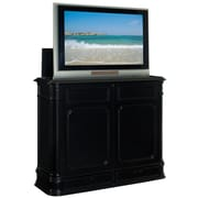 TVLIFTCABINET, Inc Crystal Pointe TV Stand; Black