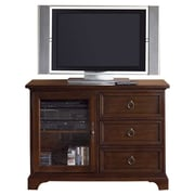 Liberty Furniture Beacon TV Stand; Distressed Black