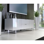 Modloft Eldridge TV Stand; White Lacquer