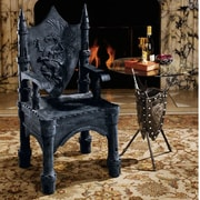 Design Toscano The Dragon of Upminster Castle Throne Arm Chair