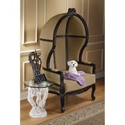 Design Toscano The Cultured Collection Twill Balloon Chair
