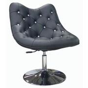 Whiteline Imports Sandy Chair; Black