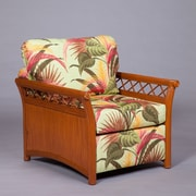 World Wide Hospitality Furniture Arm Chair; Mocha