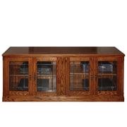 Forest Designs TV Stand; Golden Oak