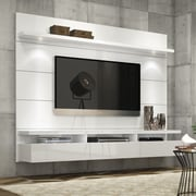 Manhattan Comfort Cabrini Entertainment Center 2.2; White Gloss