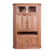 Forest Designs TV Cabinet; Chestnut Oak