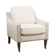 Abbyson Living Rayna Nailhead Trim Arm Chair