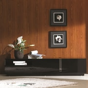 J&M Furniture TV Stand; Black