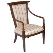 Carolina Accents Edinburgh Fabric Arm Chair