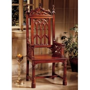 Design Toscano Gothic Tracery Cathedral Arm Chair