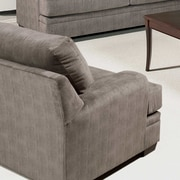 Serta Upholstery Chair; Olympian Chocolate