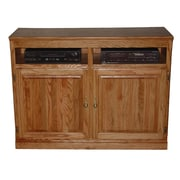 Forest Designs TV Stand; Golden Alder