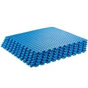 Sivan Interlocking Foam Puzzle Exercise Mat; Blue