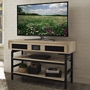 Turnkey LLC Soho 48'' TV Stand w/ Built-In Surround Sound; Brown